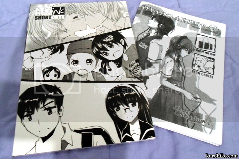 blank ink manga shortcuts with studio 4 eyes
