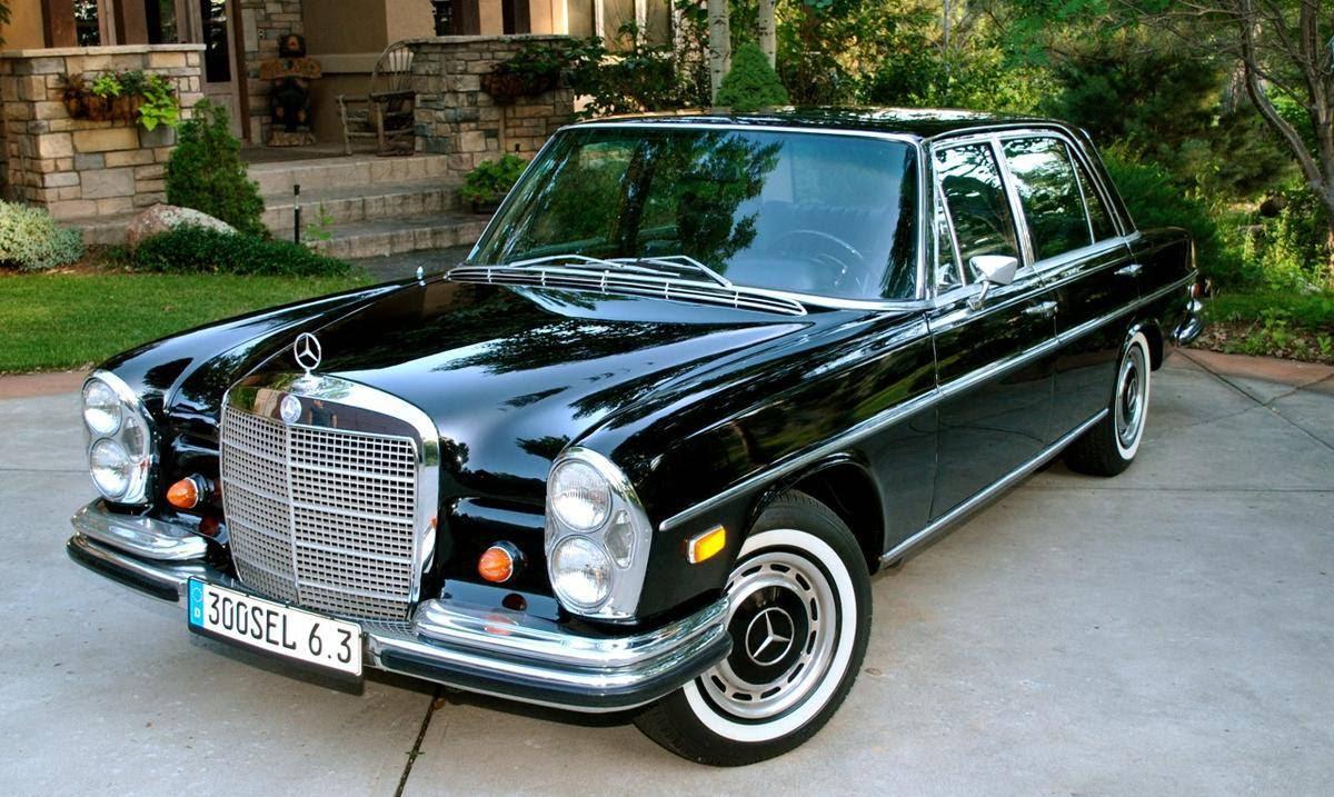 1969 Mercedes-Benz 300SEL 6.3   German Cars For Sale Blog