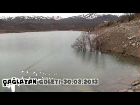 Çağlayan Göleti Bozkır/Konya 30.03.2013
