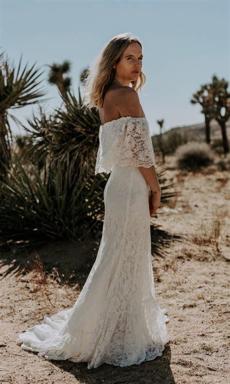 Winnie   Bohemian Wedding Dresses   Beach Wedding Dress
