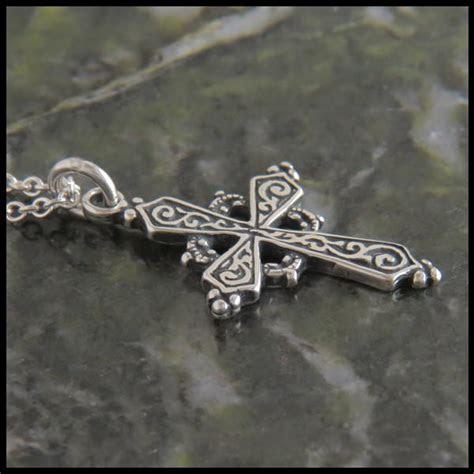 Early Christian Celtic Cross Pendant   Walker Metalsmiths