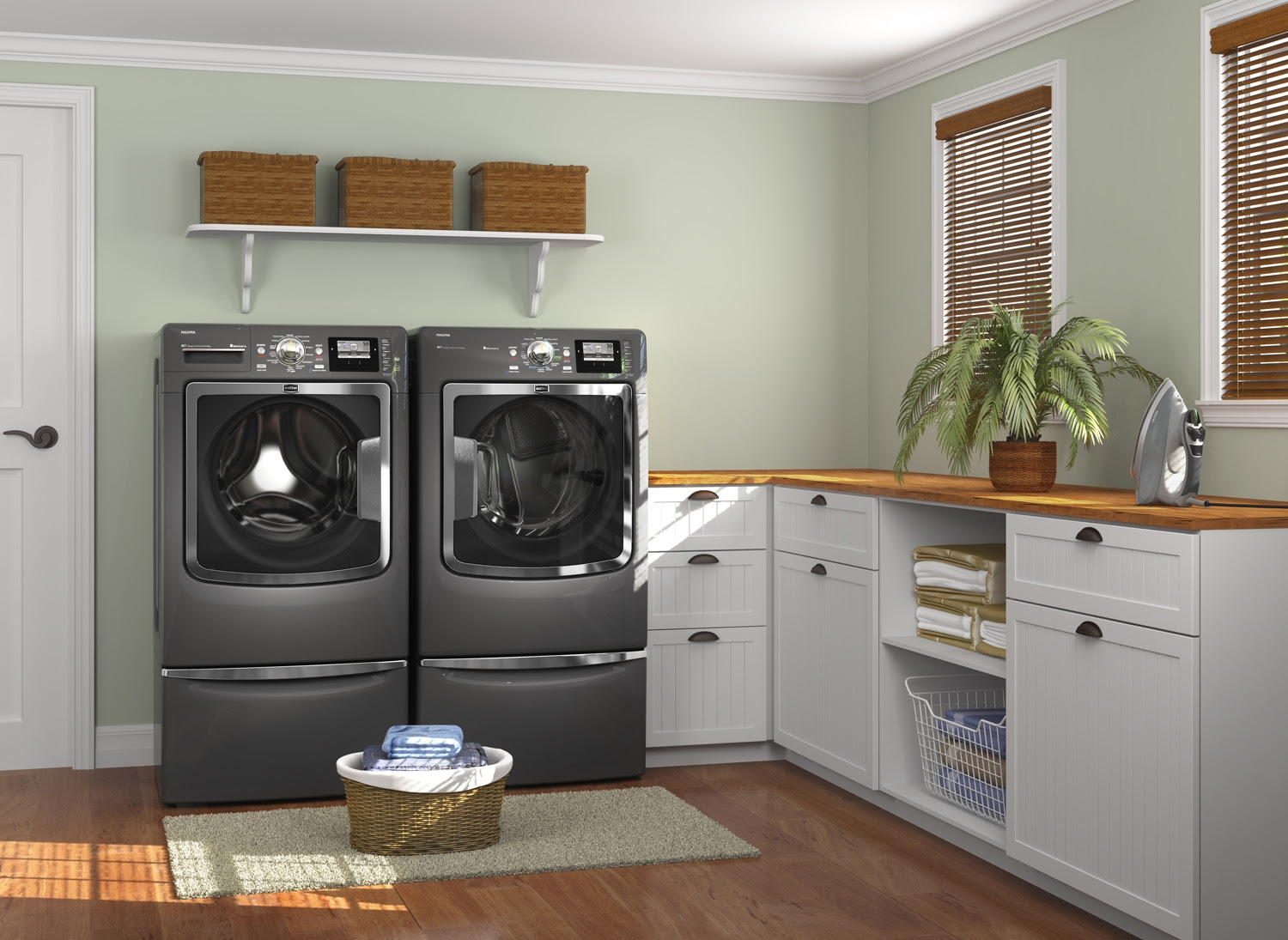 15 Tips to Creating a Laundry Room thats both Charming