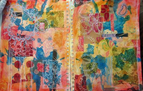 sketchbook pages