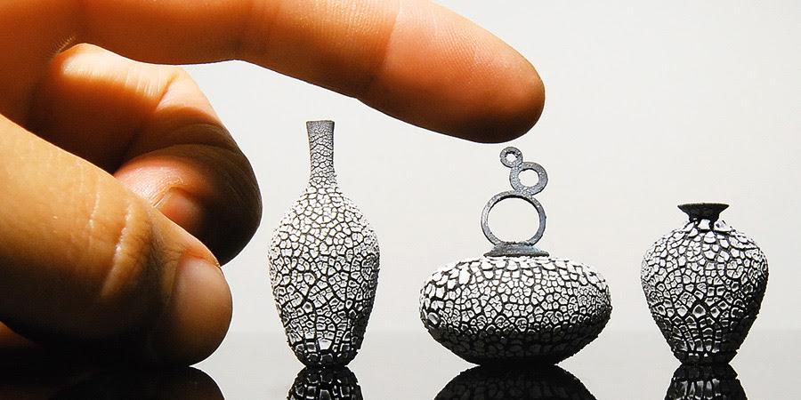 Keramik miniatur yg bikin melongo !