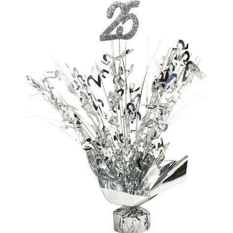 25th Anniversary Silver Centerpiece