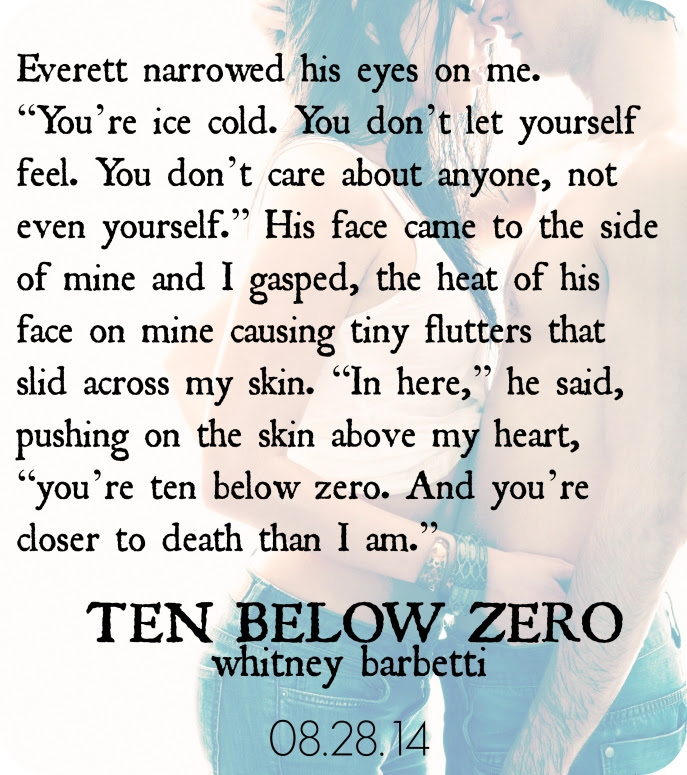 Ten Below Zero teaser pic