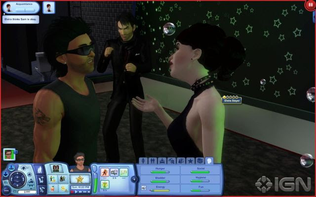 The Sims 3: Late Night Screenshot