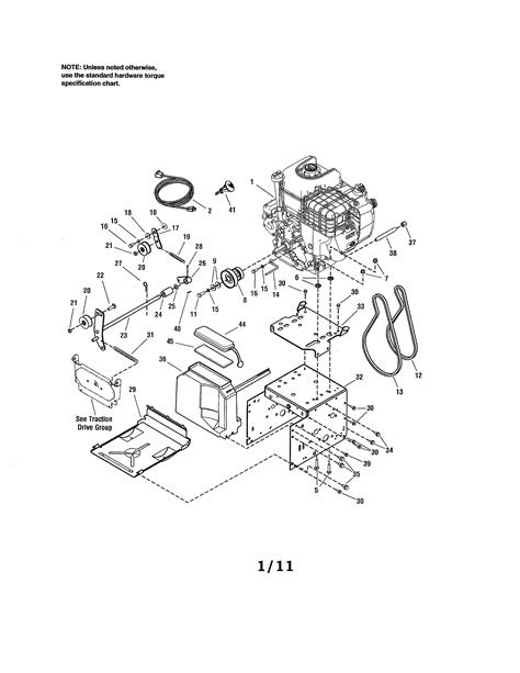 CRAFTSMAN SNOW THROWER Parts | Model C950529430 | Sears