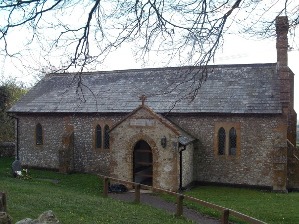 The lovely little church at Fishpond Bottom.