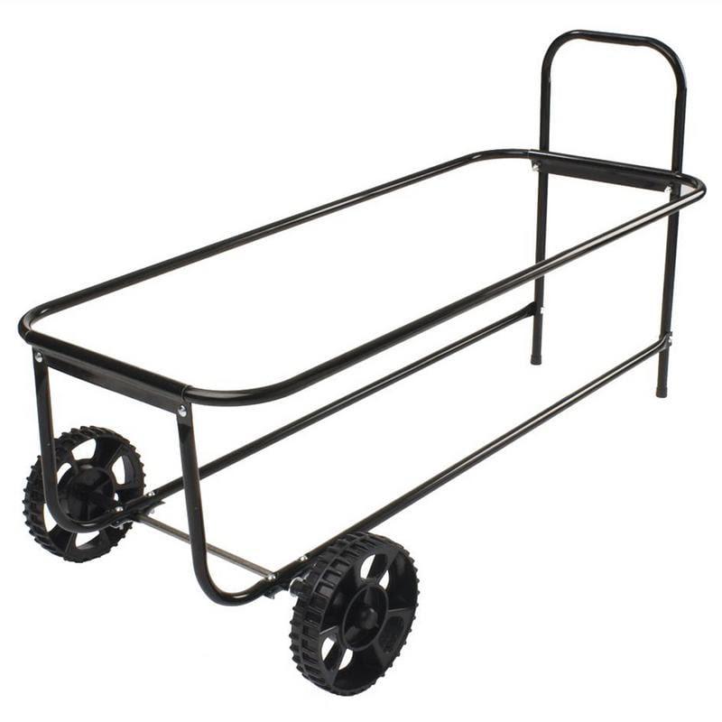 Cool Black Kitchen Cart With Trash Bin images