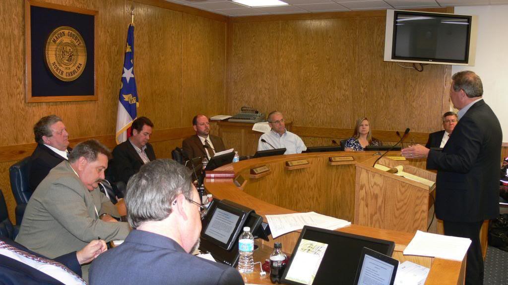 Tommy Jenkins Addresses the Board