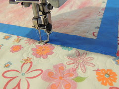 Quilting from the back