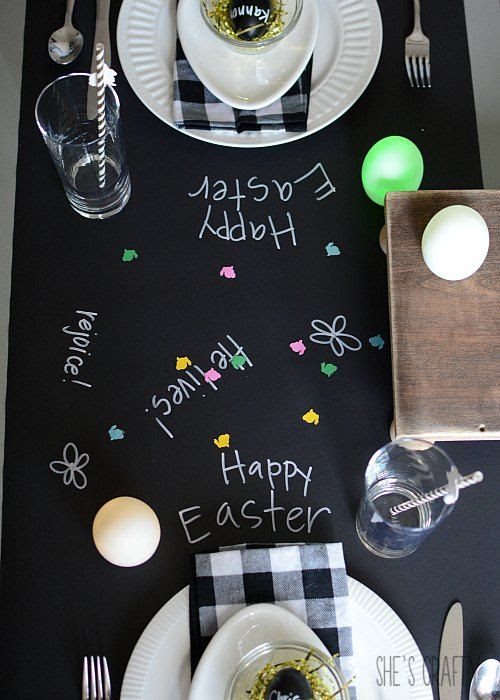 chalkboard paper, chalkboard marker, neutral colors
