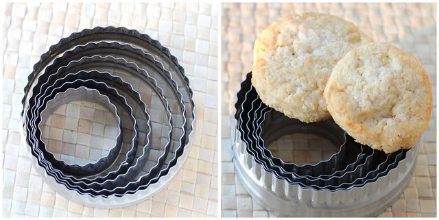 Crystallized Ginger Scones collage 1