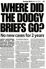 Where did the dodgy briefs go  Sunday Mail 6 March 2011