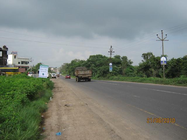Talegaon Chakan Road - rare view!