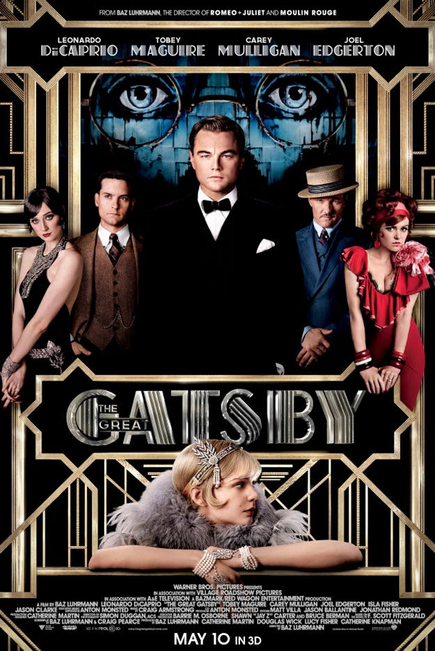 "SEE ALSO: Stunning posters of ""The Great Gatsby"" cast >"