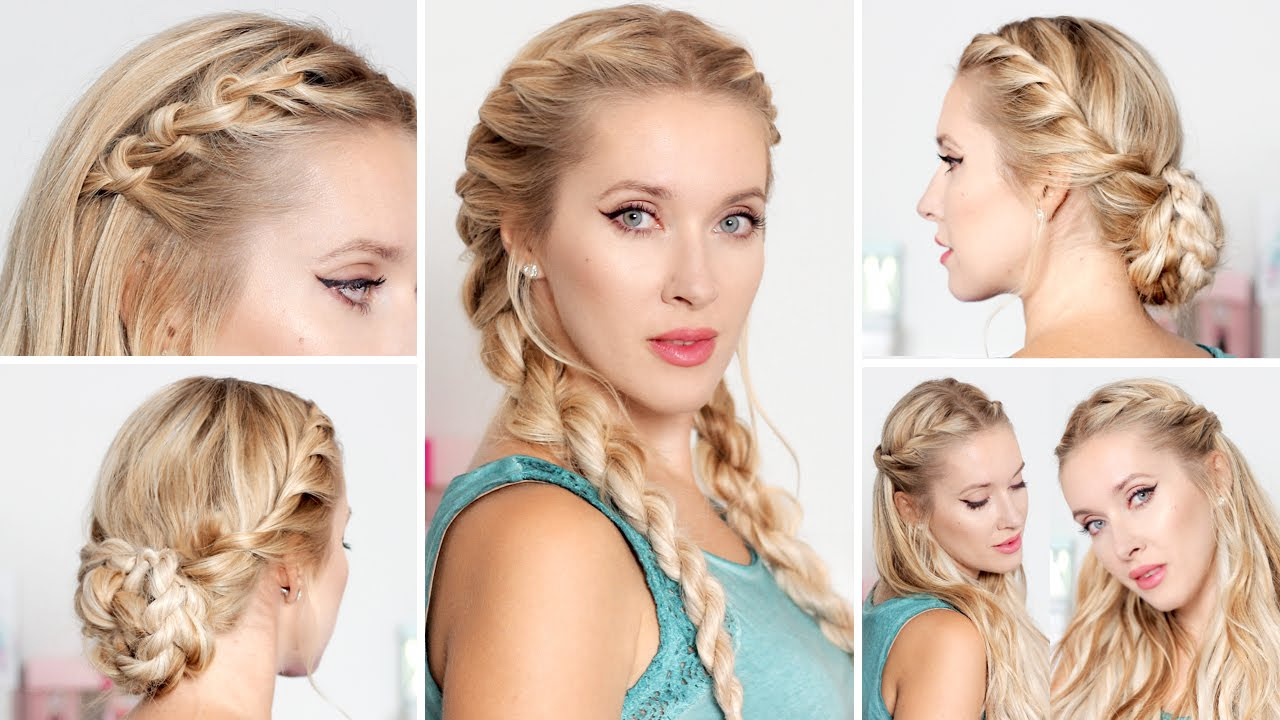 7 Pretty Hairstyles For School That Are Quick And Easy FashionGlint