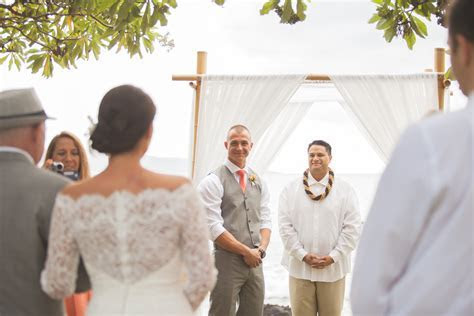 Alisha and Dave's Gorgeous Hawaii Wedding Package