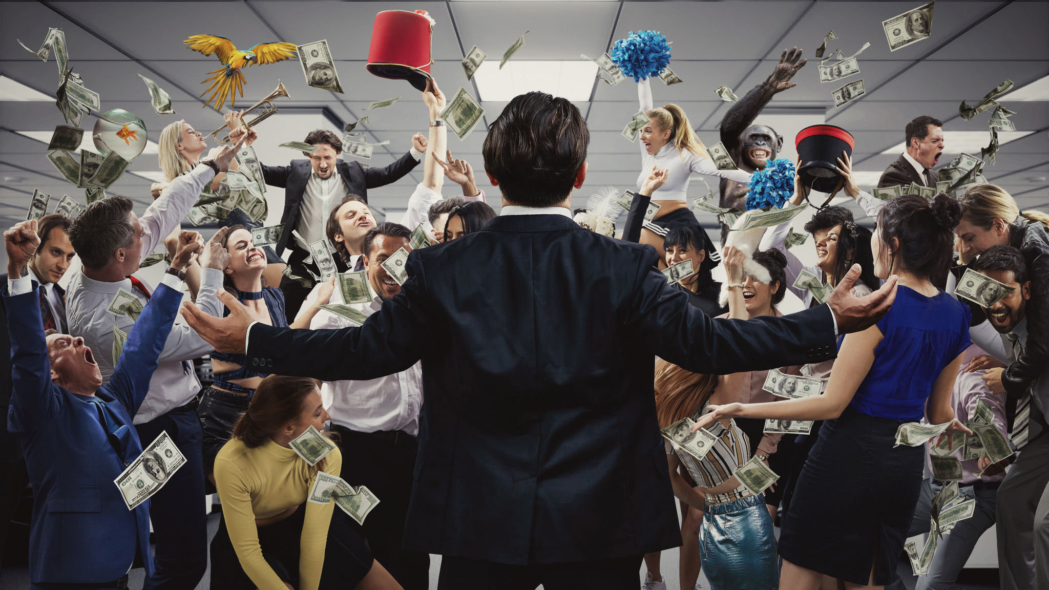My Night As The Wolf Of Wall Street Financial Times