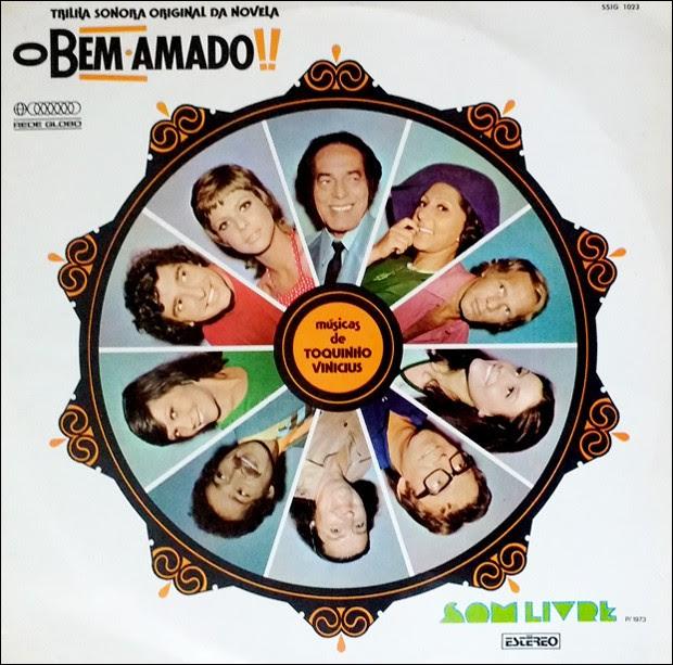 Resultado de imagem para O Bem Amado - trilha sonora original da telenovela (1973)
