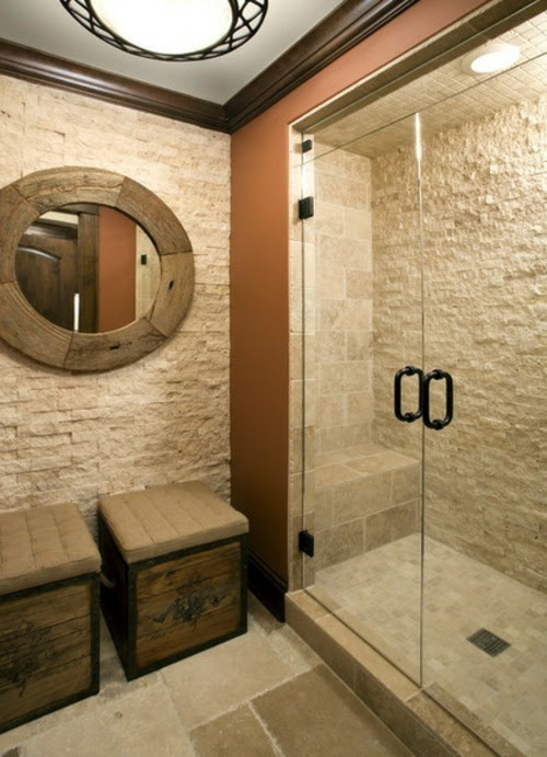 Natural stone tiles for your bathroom | Interior Design ...