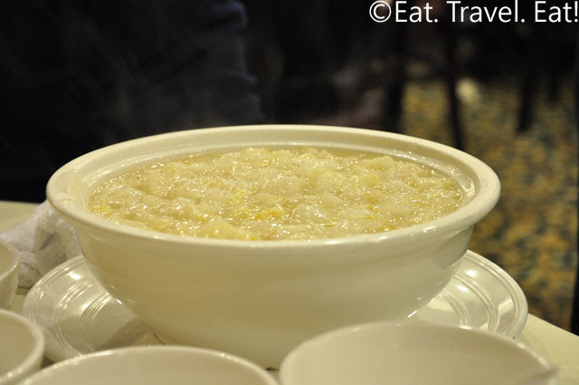 Fish Maw and Corn Soup