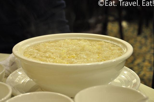 Fish Maw and Corn Soup