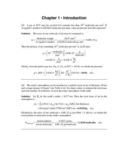 (PDF) Solution Manual - Fluid Mechanics 4th Edition