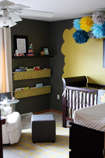 Melanie's office nursery