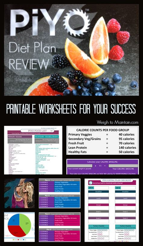 meal plan fitness piyo pinterest piyo diet