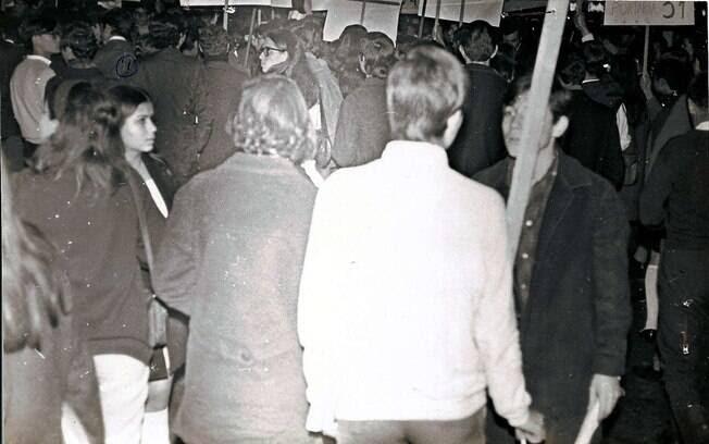 O auge das manifestações foi em 1968. Foto: Arquivo Brasil Nunca Mais