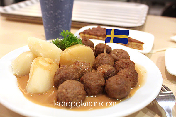 The 15 balls, Ikea Swedish Meat Balls