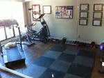 Gym: Cool Home Gym Designs For Daily Workouts, Good-looking Small ...
