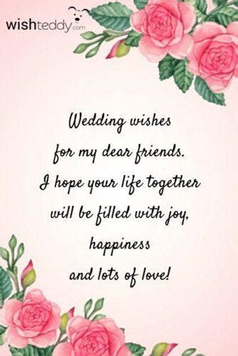 Wedding Wishes: 108 Examples of What to Write in a Wedding