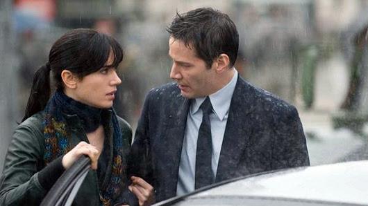 Jennifer Connelly y Keanu Reeves en 'El día que la tierra se detuvo'