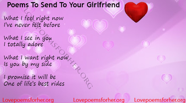 Ever Best Poems To Send To Your Girlfriend Love Poems For Her