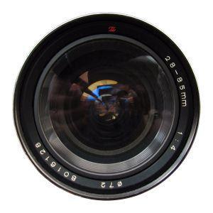 28-85 mm lens