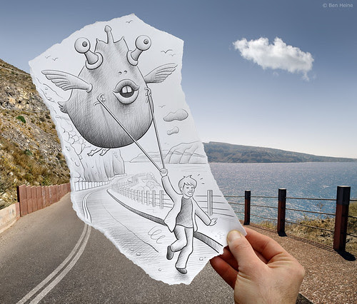 5440176104 deacd0e809 in Incredibly Creative Pencil Drawings vs Photography