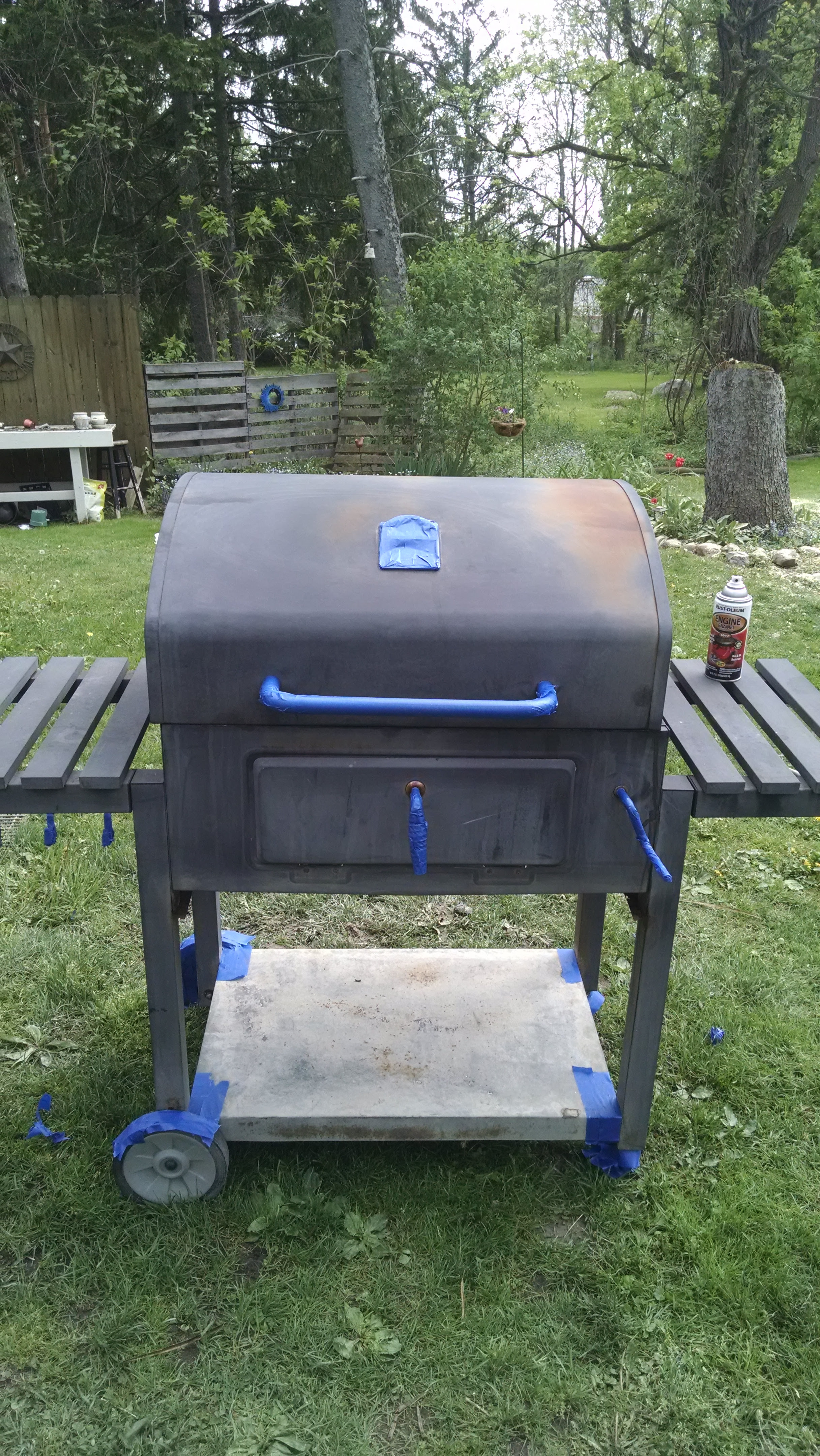 My $10 DIY Grill Makeover