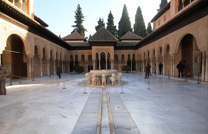 Archivo: Patio de los Leones - Alhambra.JPG
