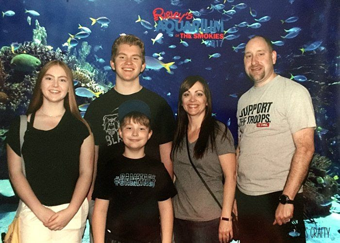 fun things to do in Gatlinburg, Aquarium at the smokies,