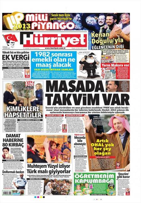 Eρχεται κατάπαυση του πυρός Τουρκίας-PKK;