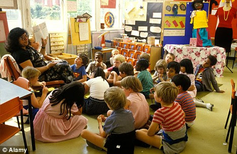 Baby boom: The Coalition has acknowledged that the shortage of primary school places is 'critical'
