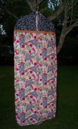 Handmade Quilted Garment Bag, 20 x 54 x 3