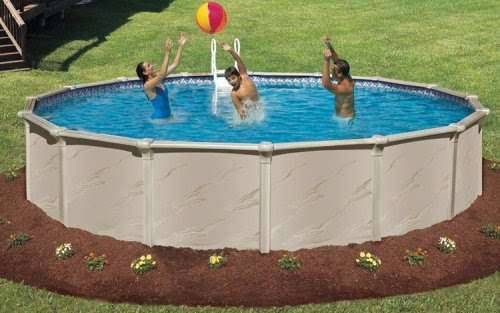 above ground pool | Landscape Designs | Page 3