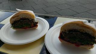 Butcher's Burger from Spoon's Vegetarian Butcher