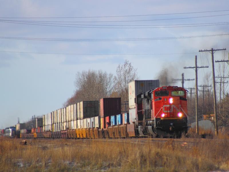 CN 8954 in Winnipeg
