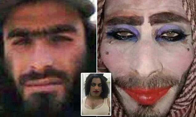 ISIS fighters dress as women with make-up to flee Mosul