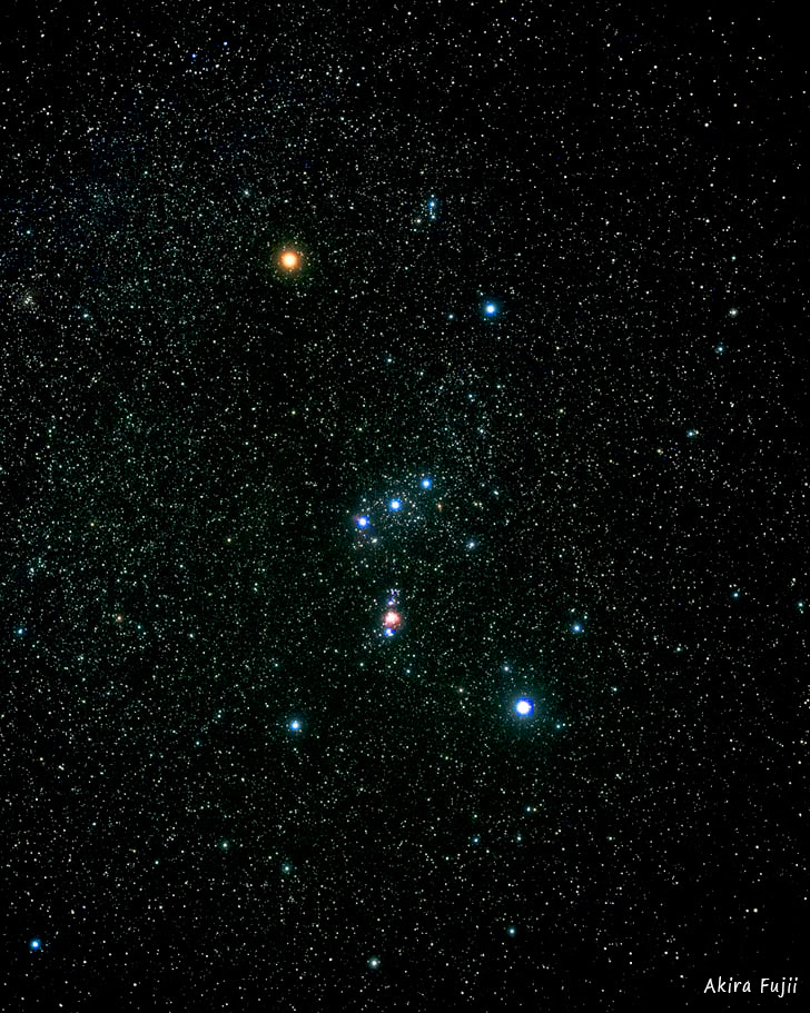 En Hommage à Orion Description De La Constellation Dorion